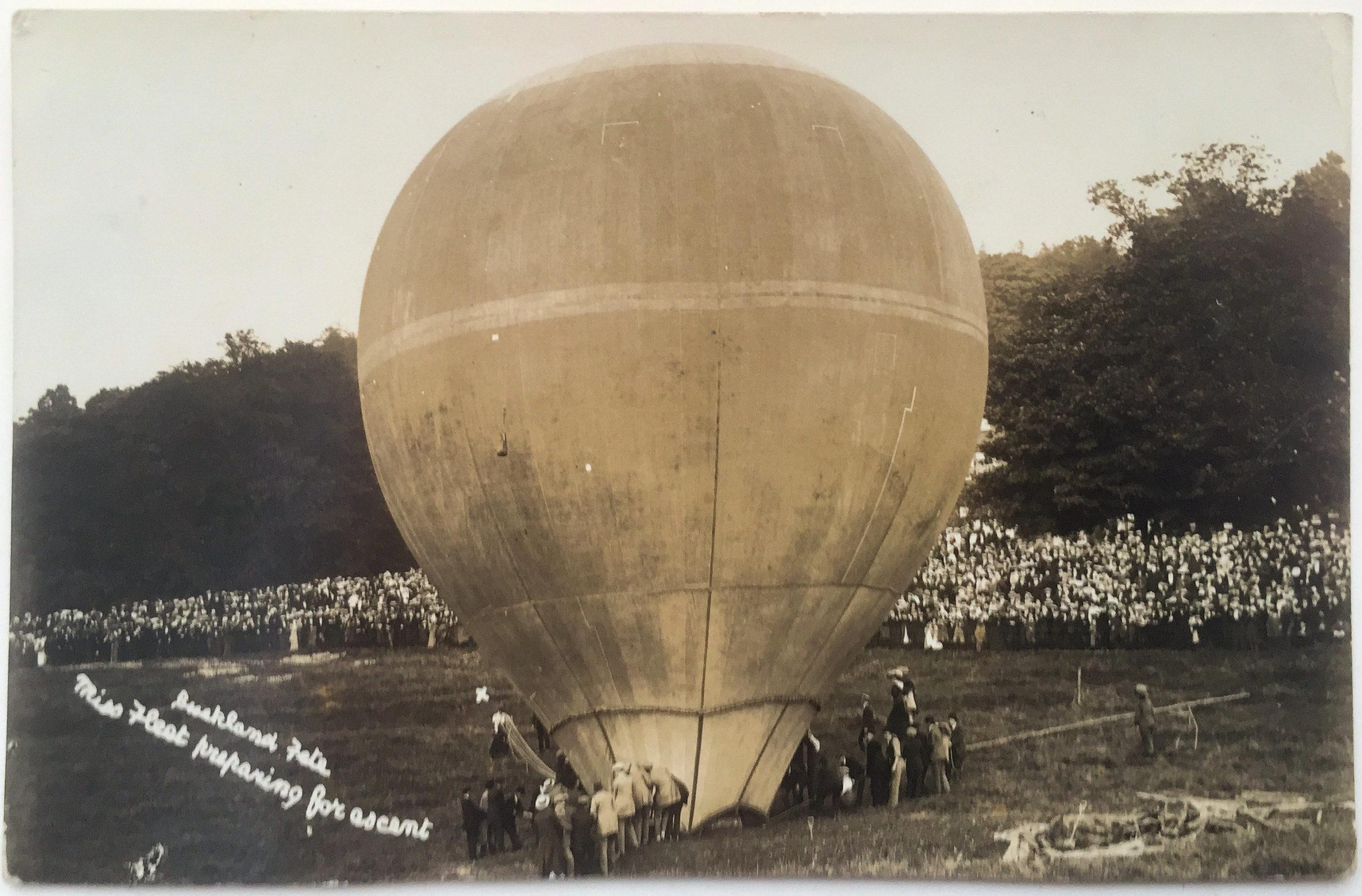 Buckland fete balloon