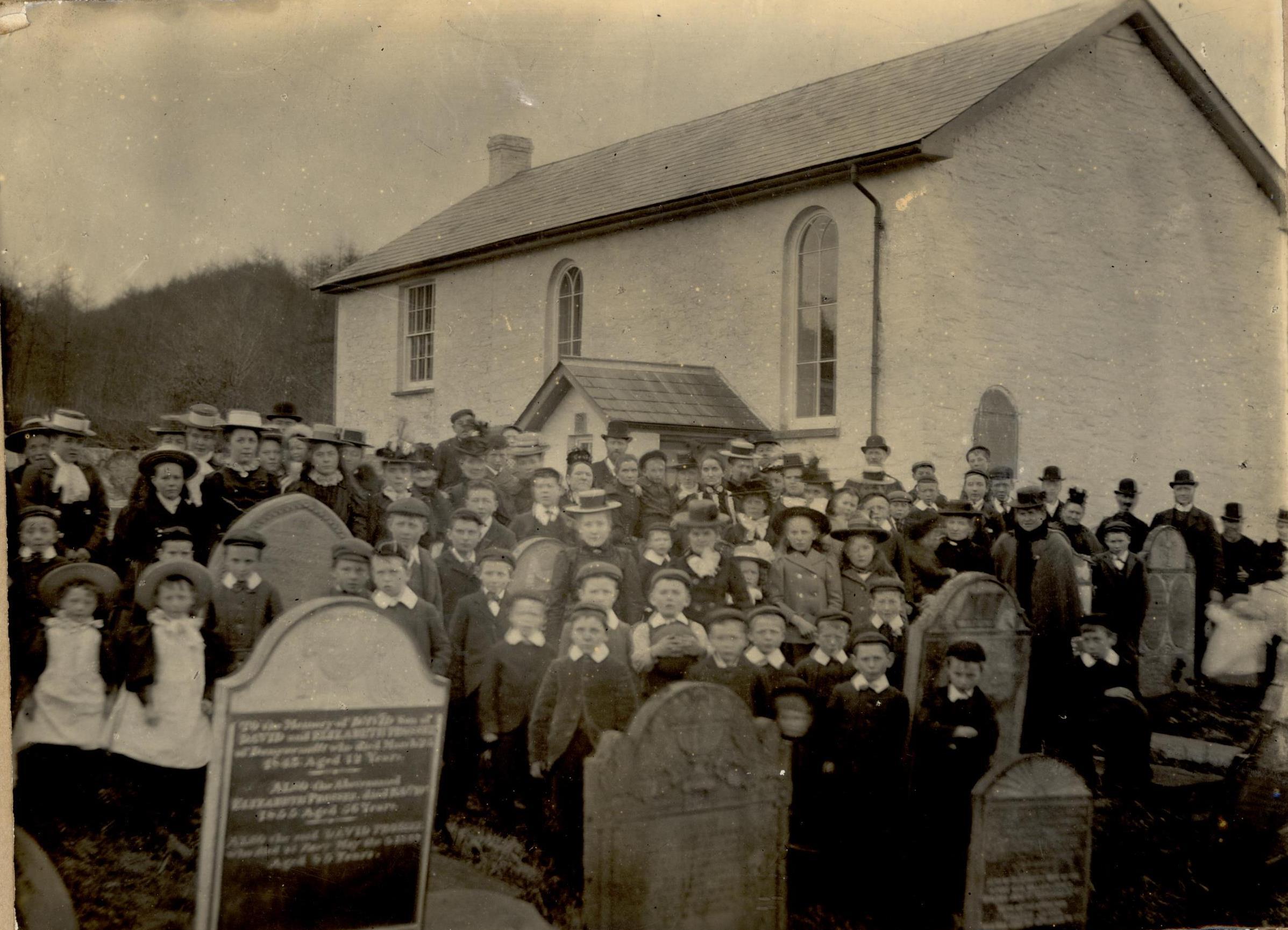 Aber Chapel Sunday School Photograph