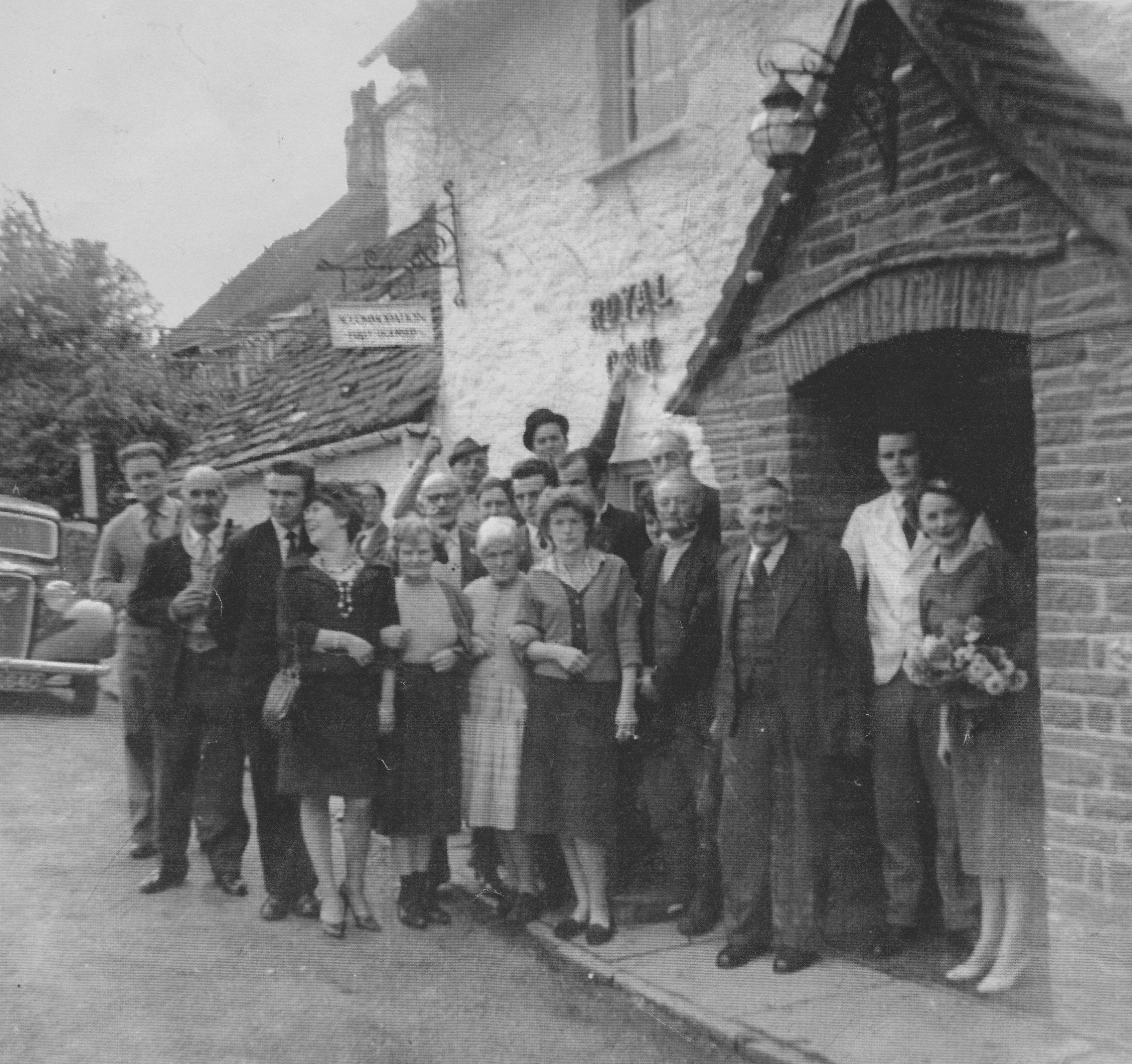 The first Sunday opening at the Royal Oak Pencelli 1961
