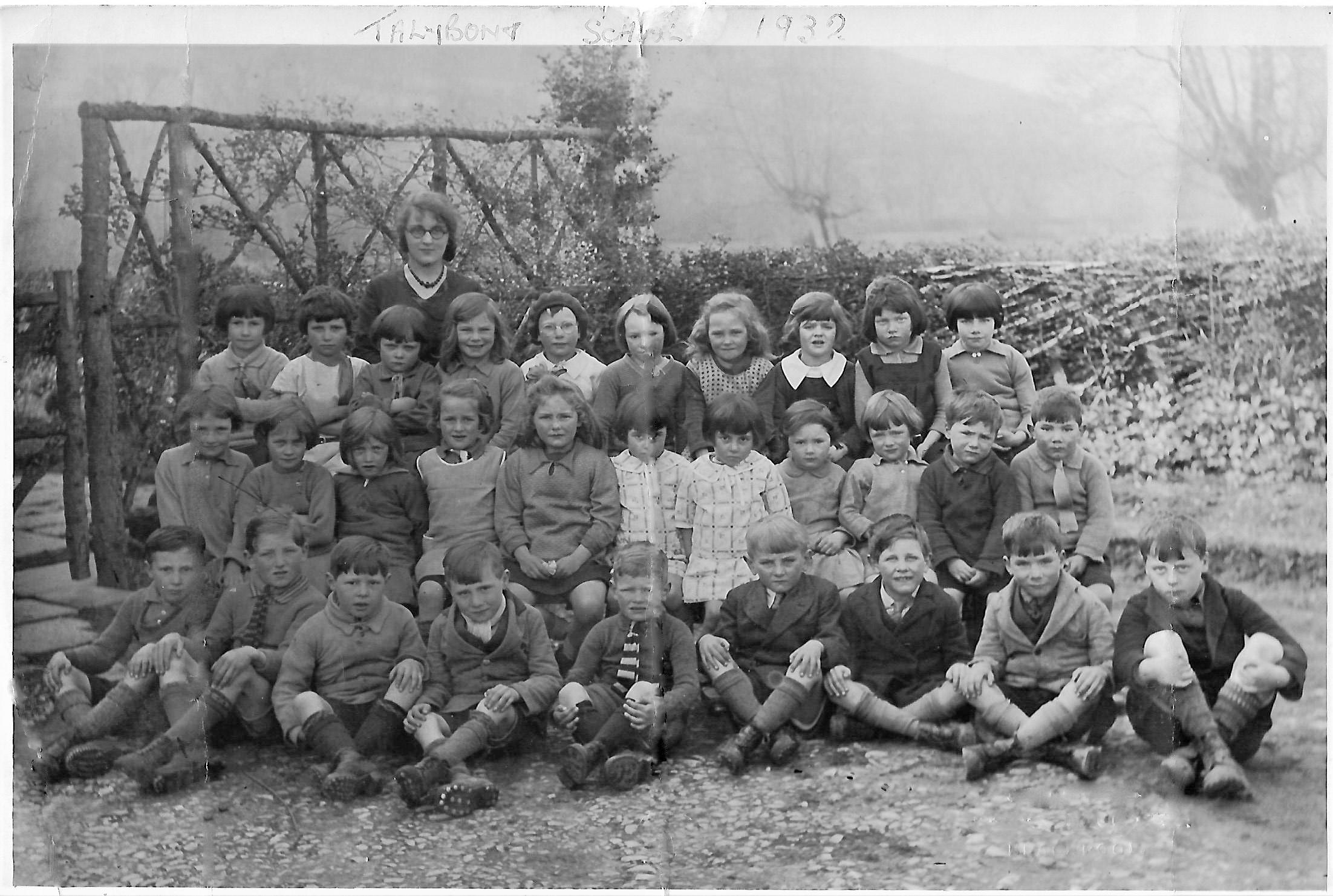 Talybont School 1932
