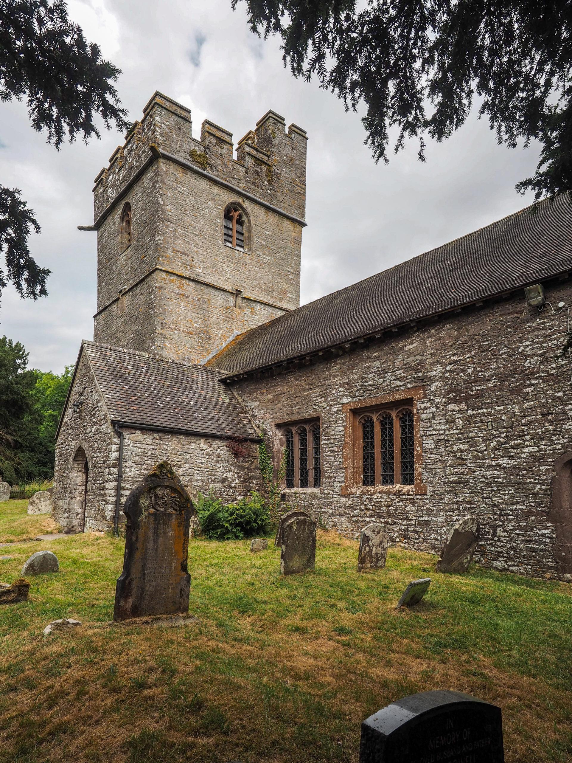 Llanfeugan church