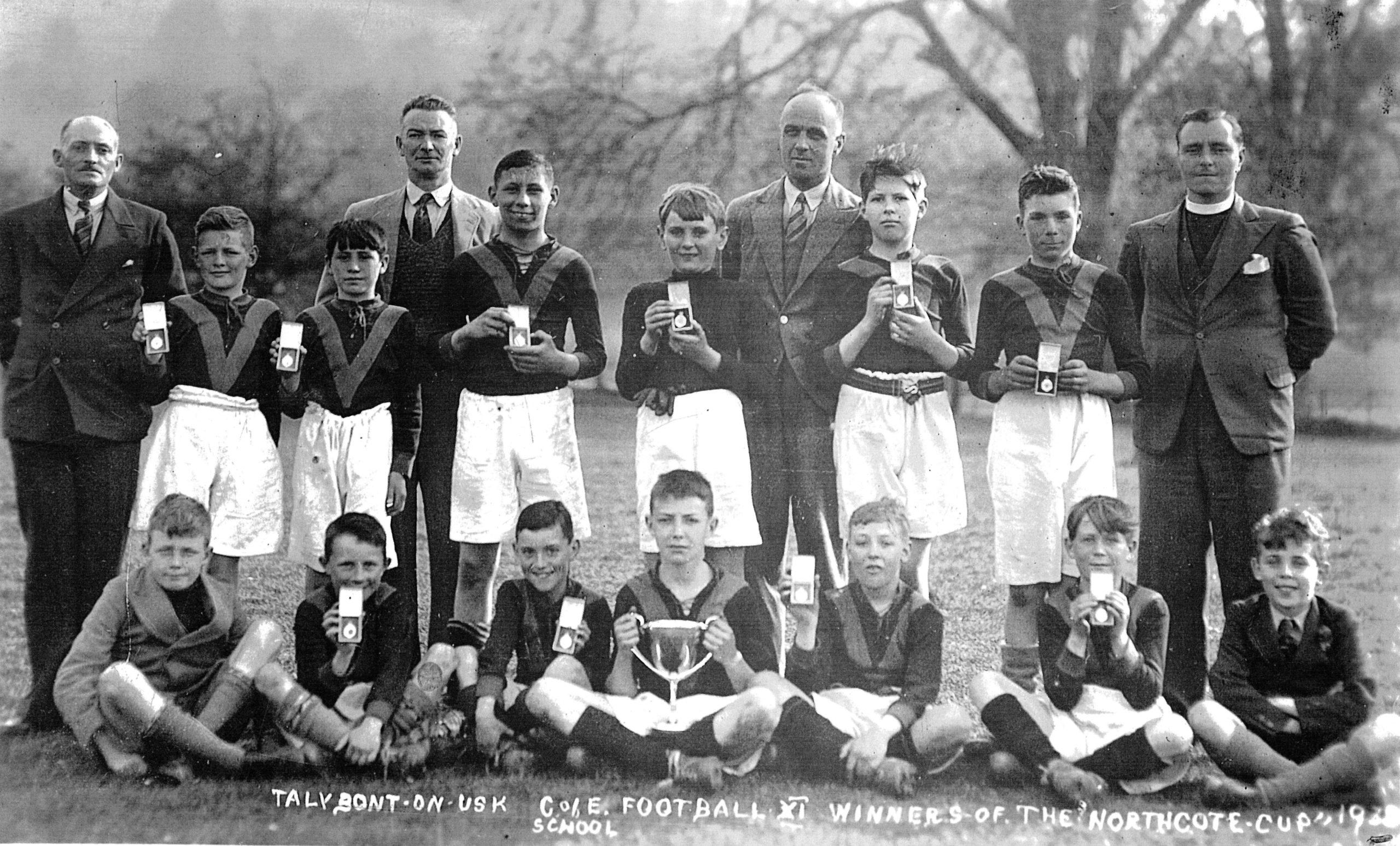 Talybont School Northcote Cup Winners 1938