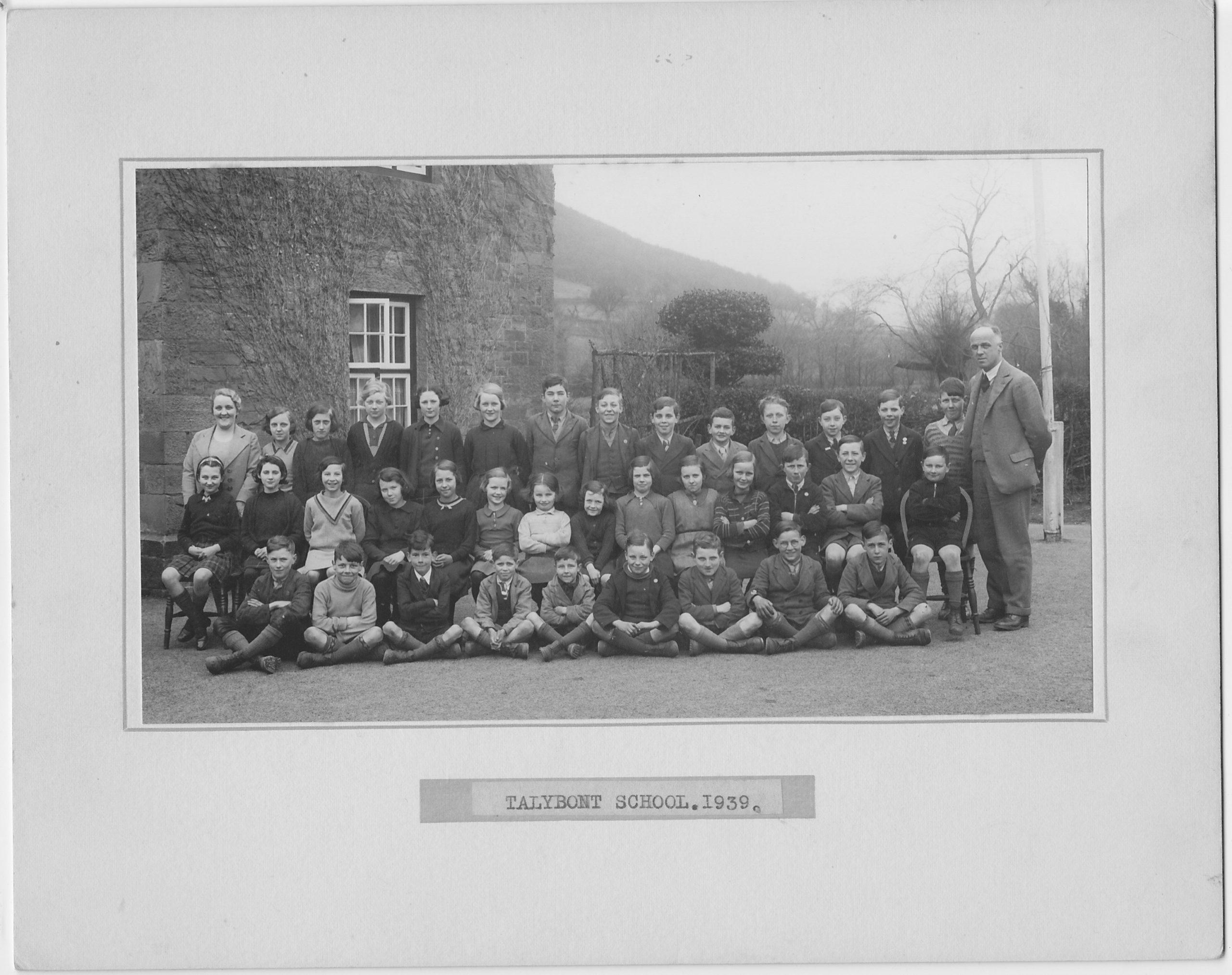 Talybont School 1939