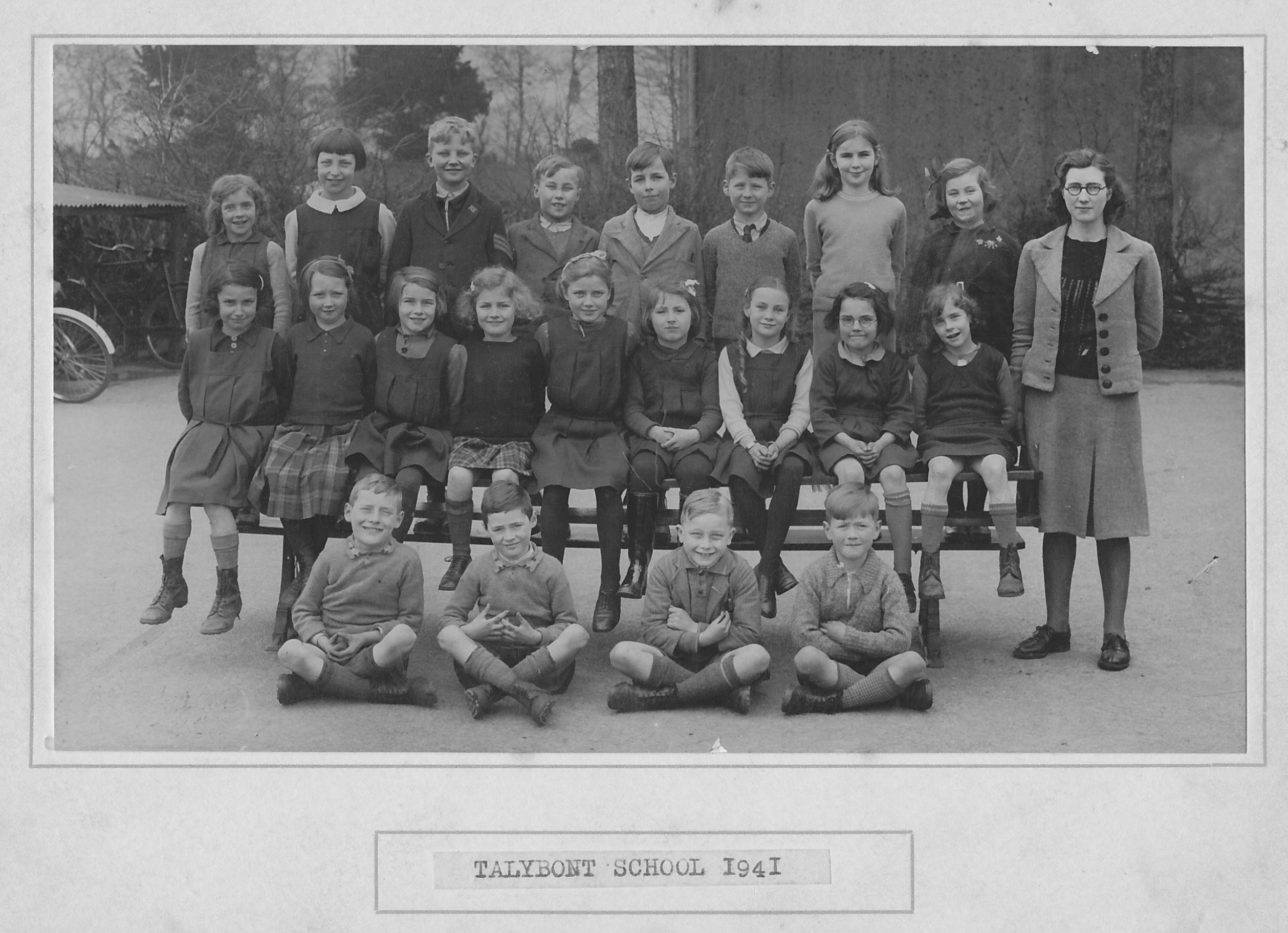 Talybont School 1941