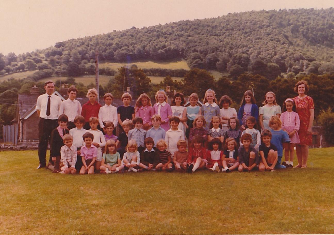 Talybont School 1971