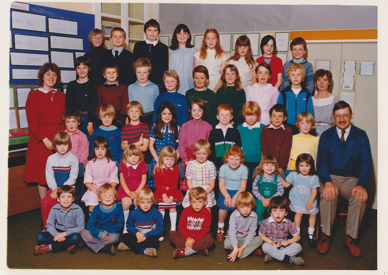 Talybont School 1983