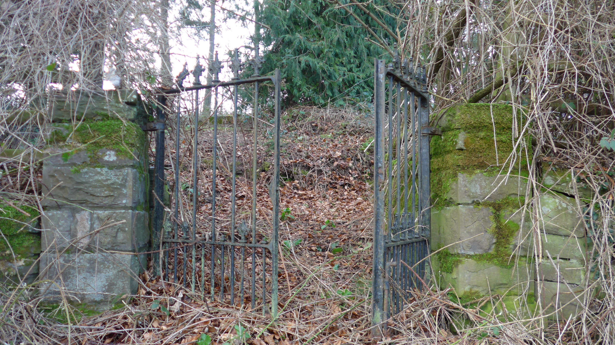 The only remnants of the Iron Church