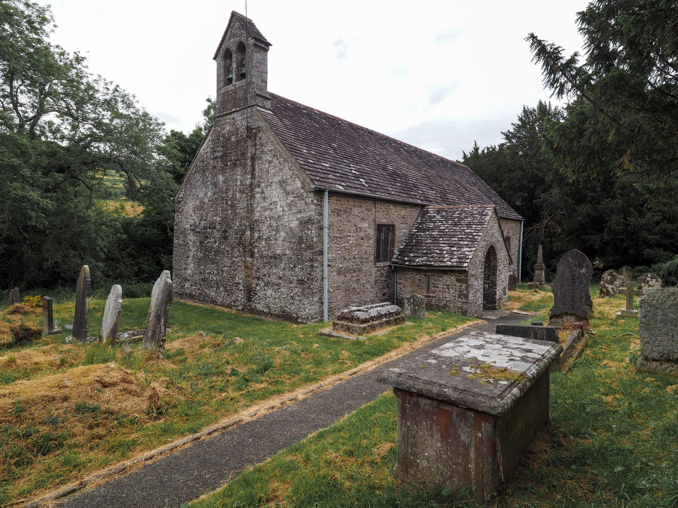 Llandetty Church