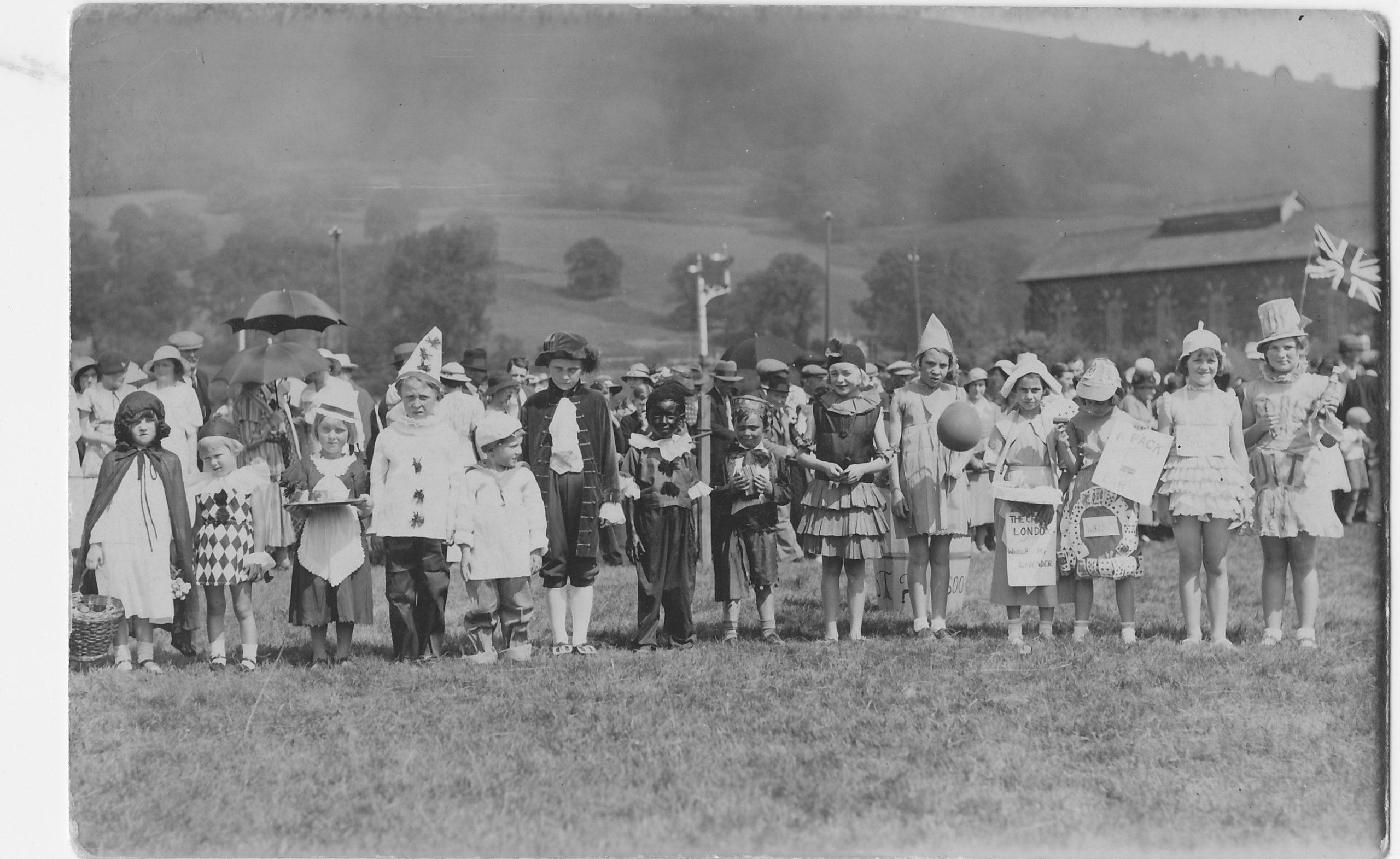 Carnival field near station 1934