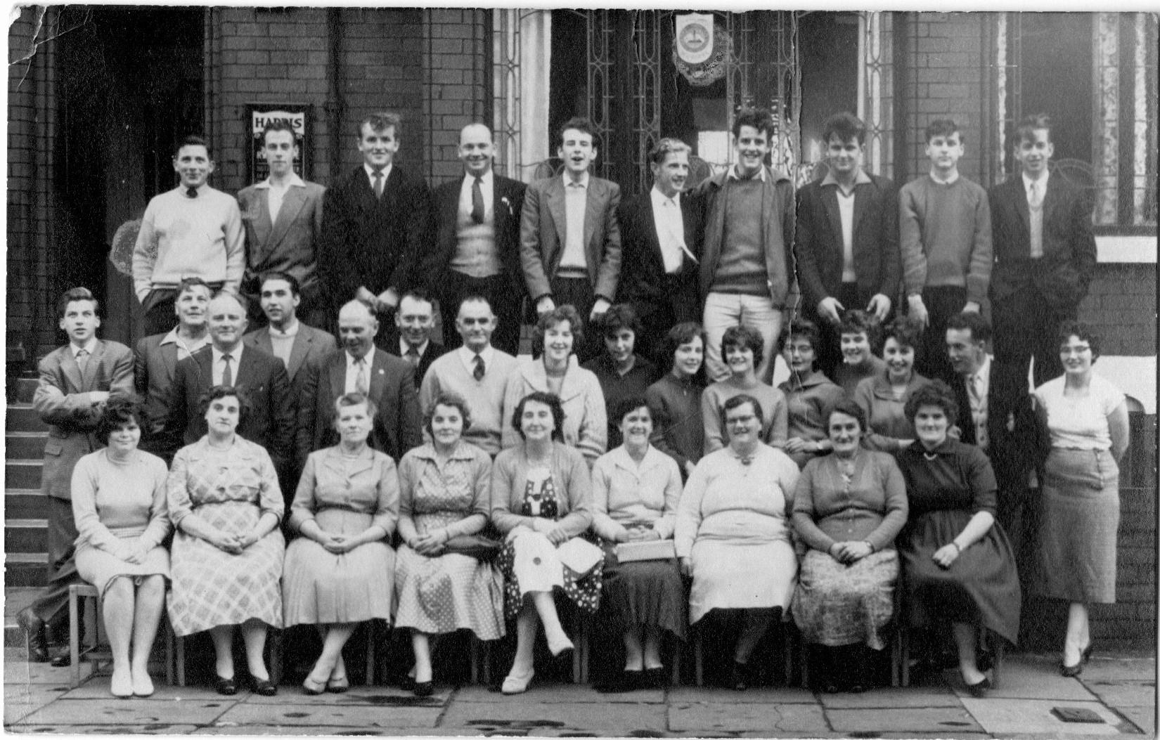 Youth Club trip to Blackpool C1954