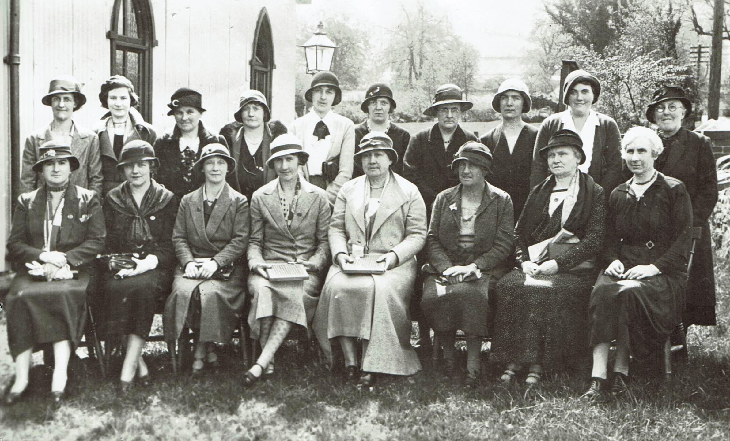Womens Institute 1927
