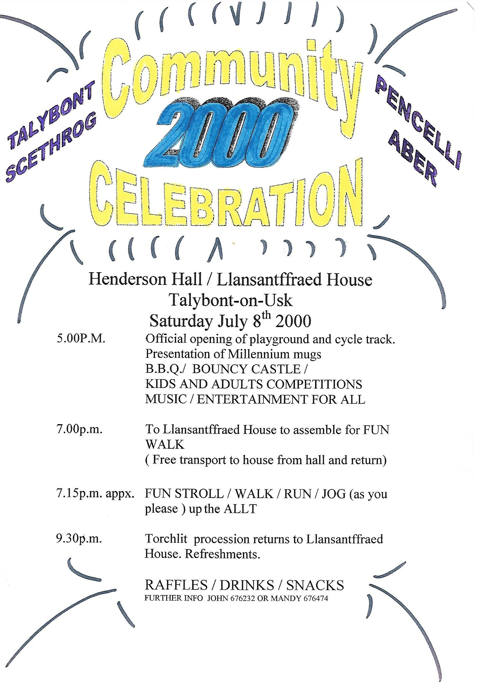 Millennium Poster July 2000