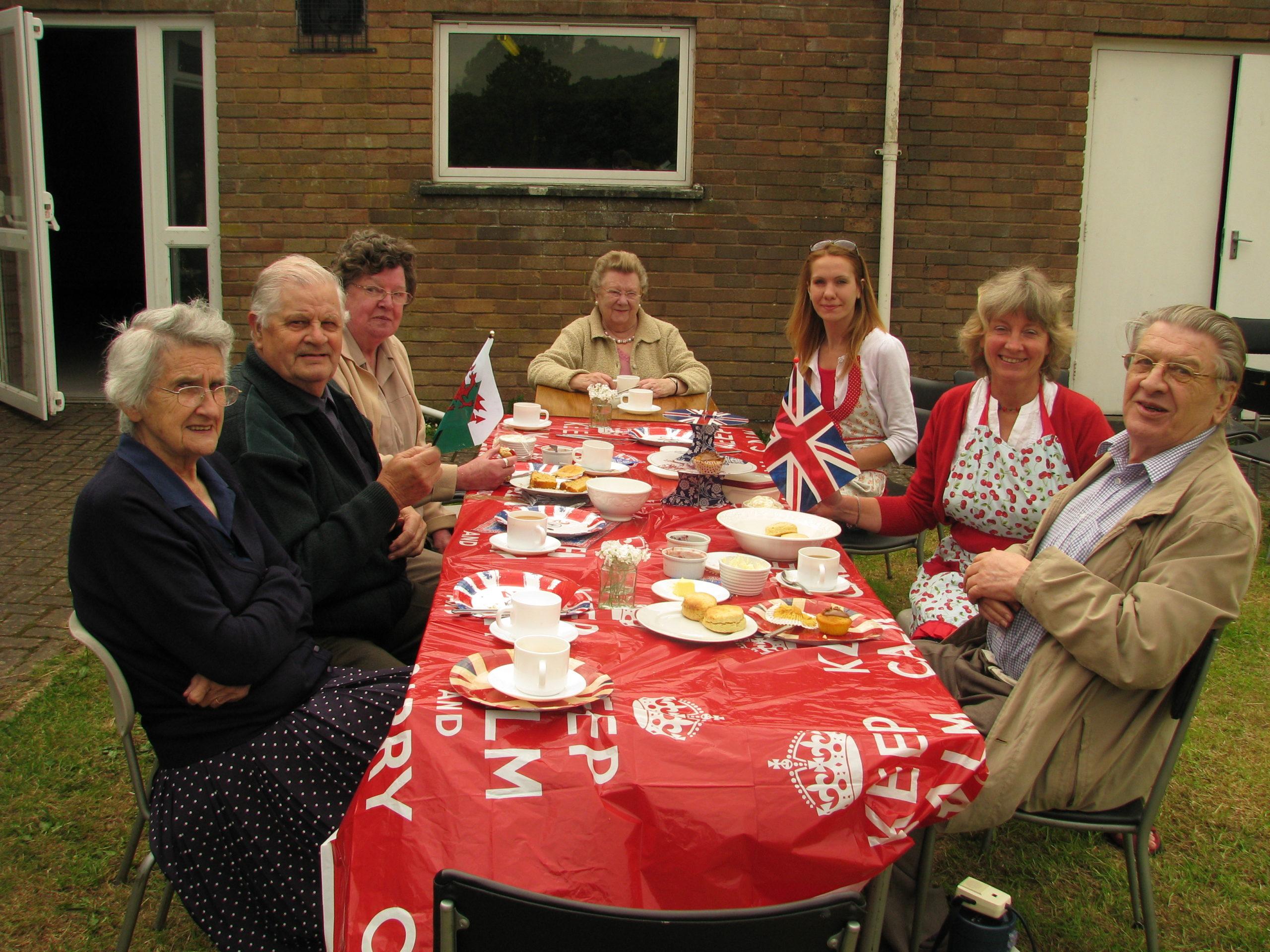 Jubilee Pensioners' Tea
