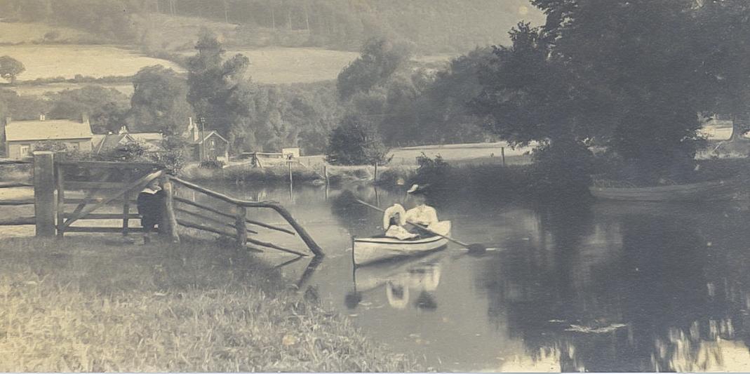 Canoe on the canal