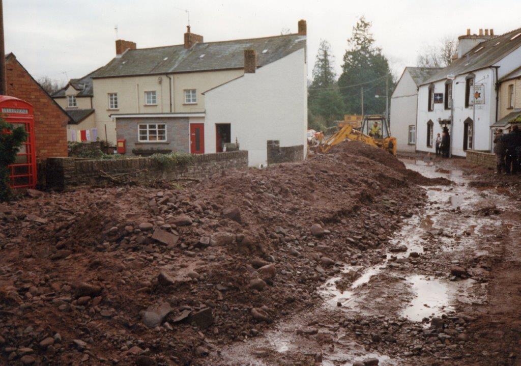 Canal Breach on 8th December 1984