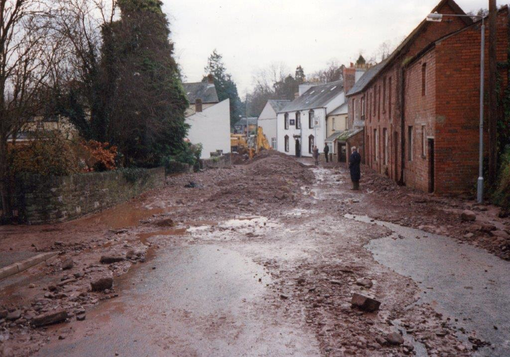 Aftermath of Canal Breach