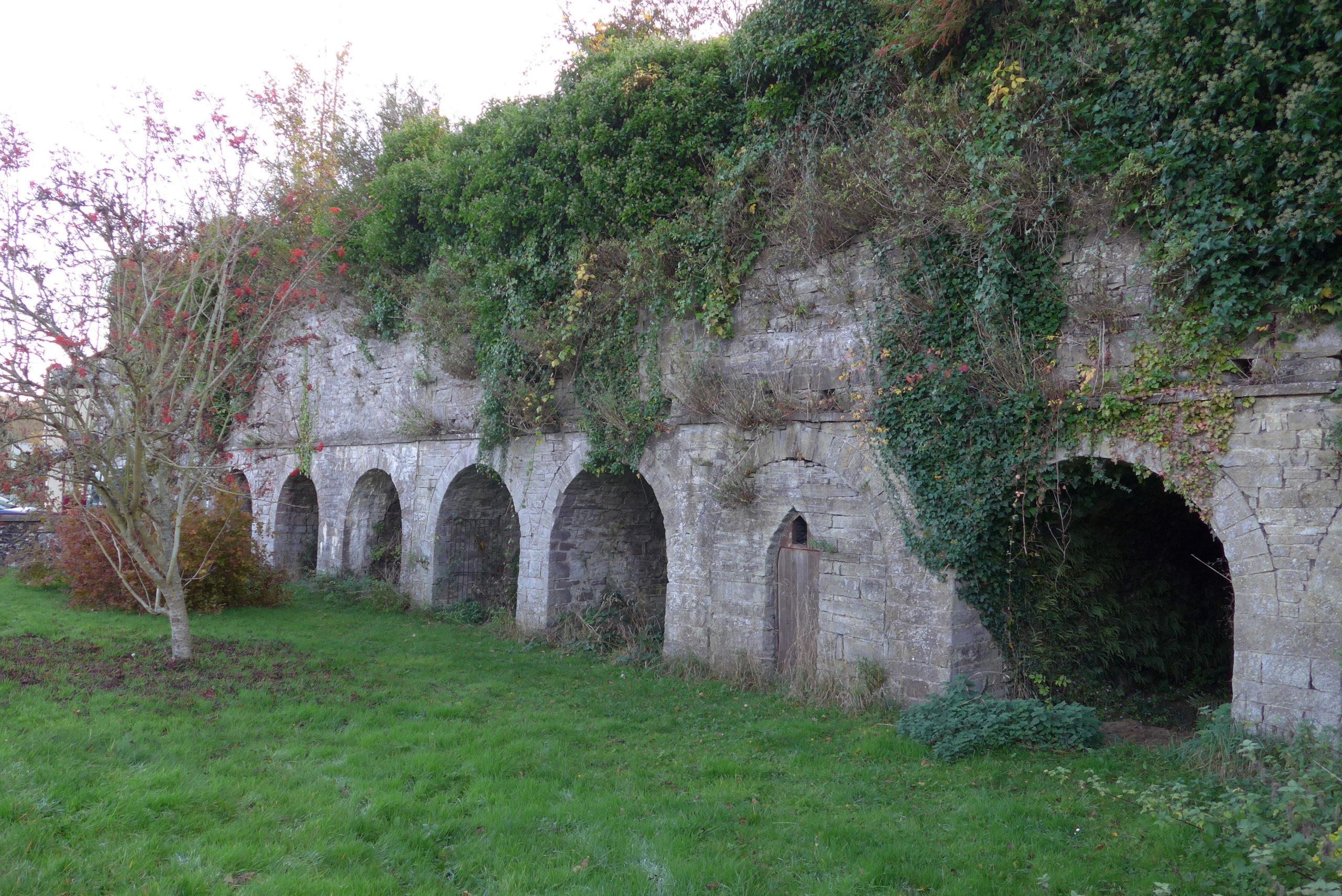 The lime kilns at Brynhyfryd