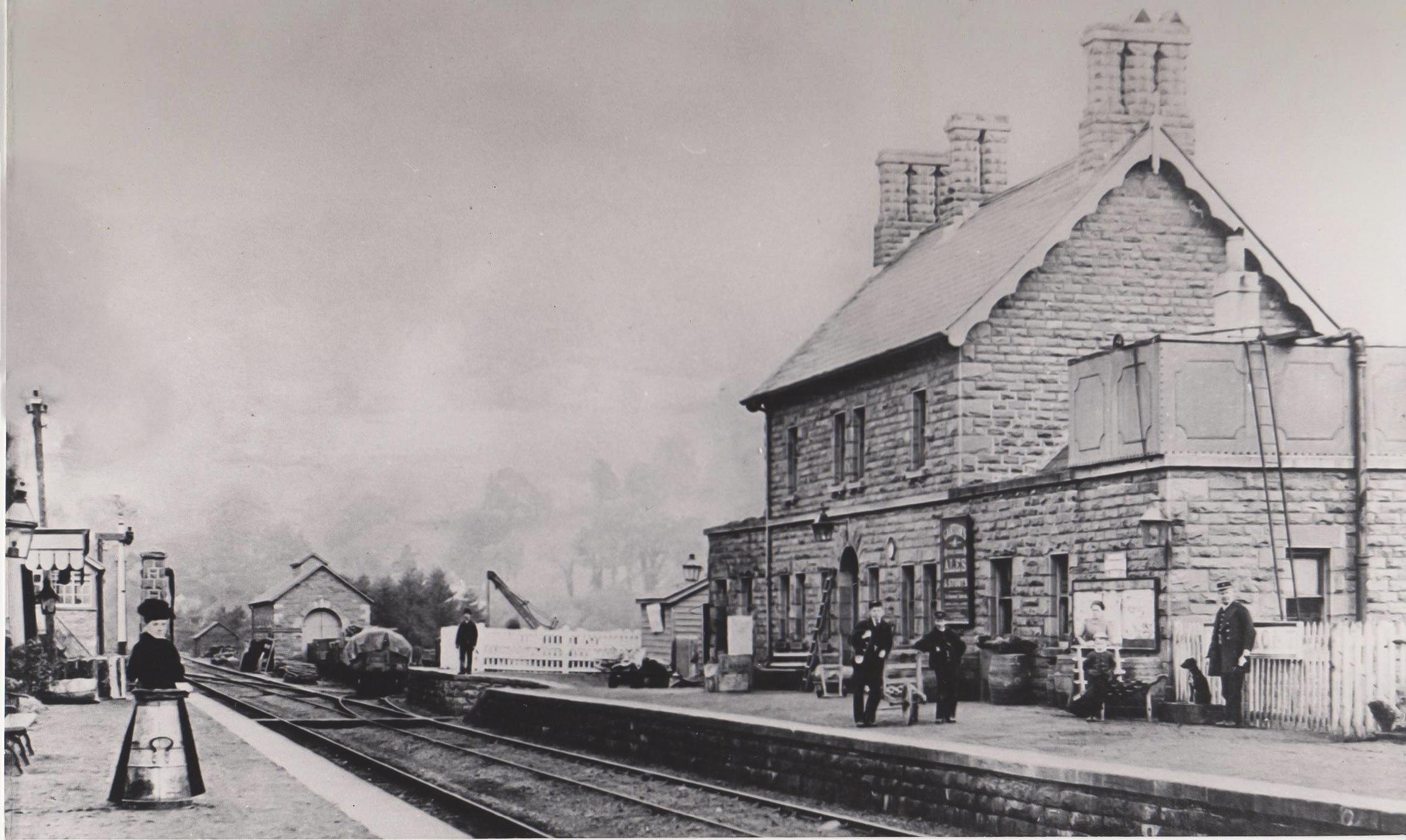 Talybont Station