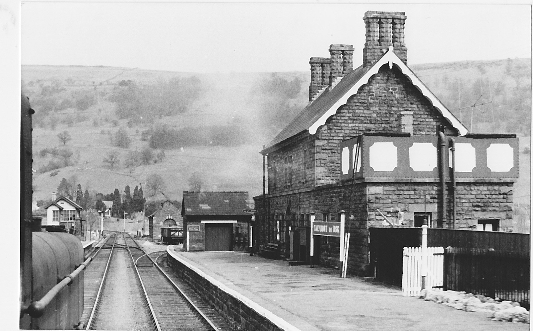 Talybont Station looking north