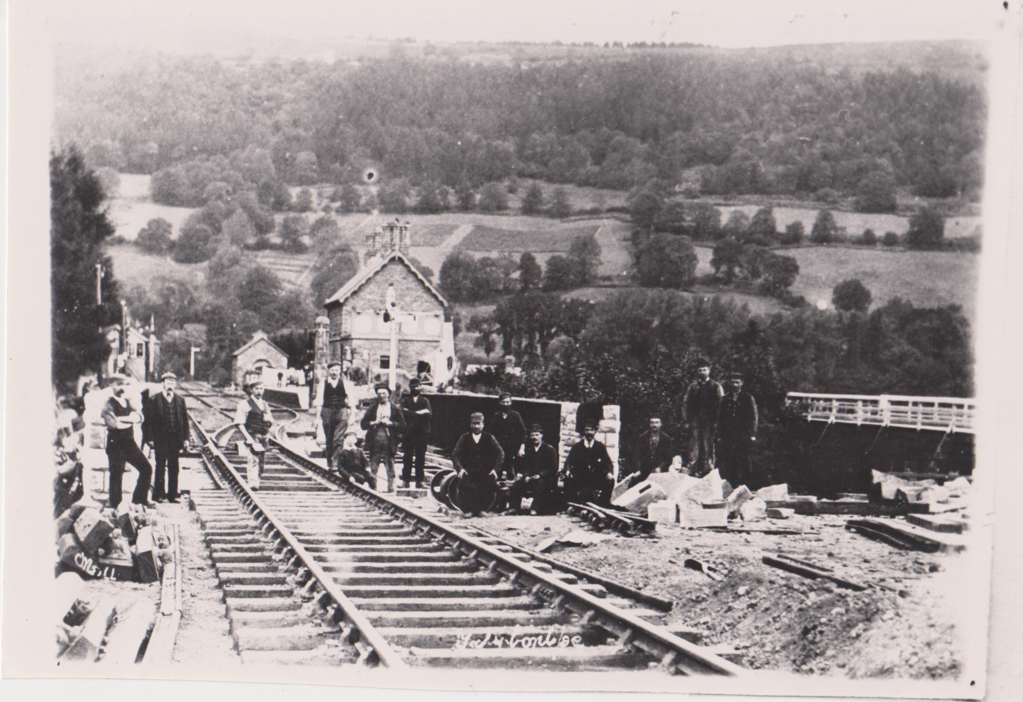 Gangers near Talybont Station