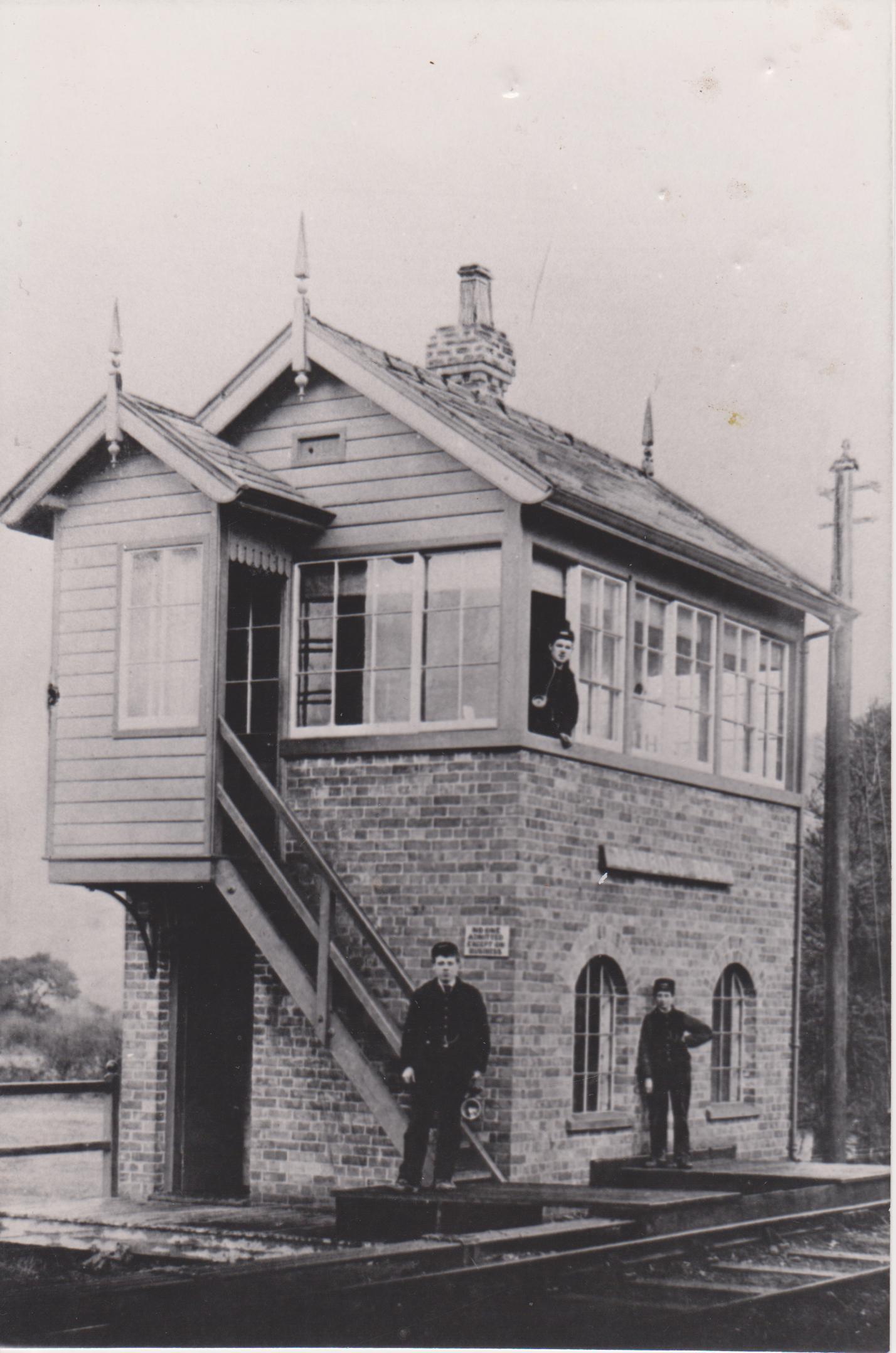 Talybont Station Signal Box