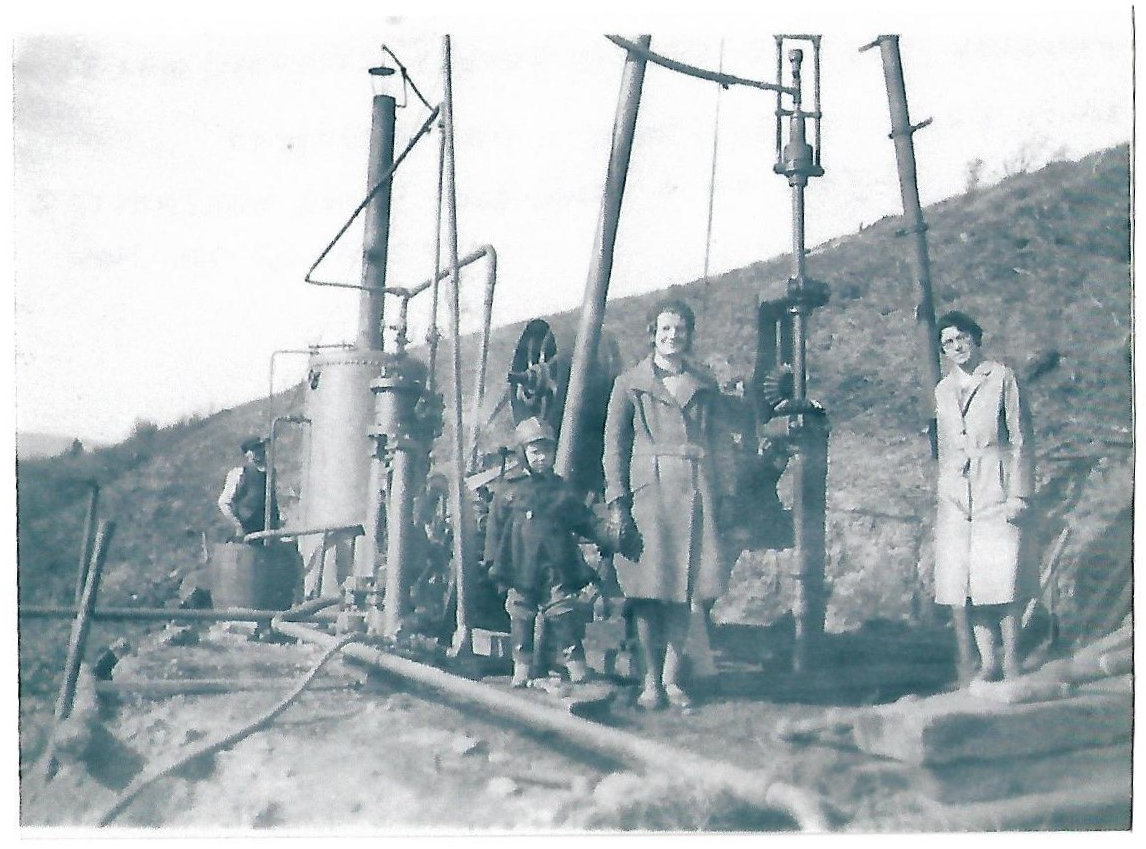 A mobile drilling rig 1931