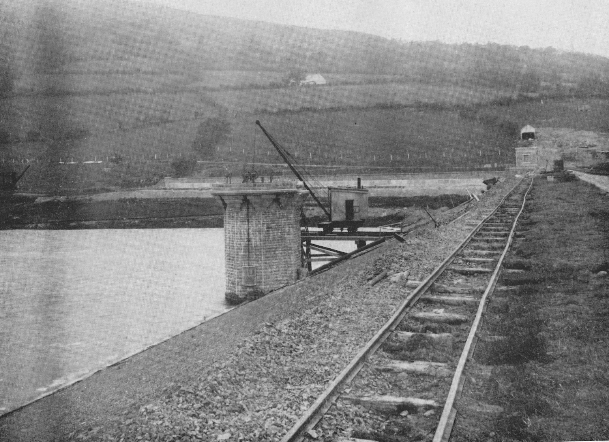 Reservoir Dam Construction