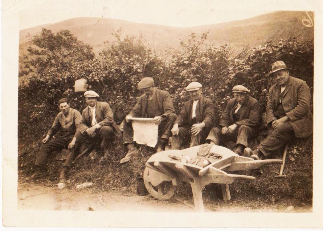 Reservoir workmen mid 1930's