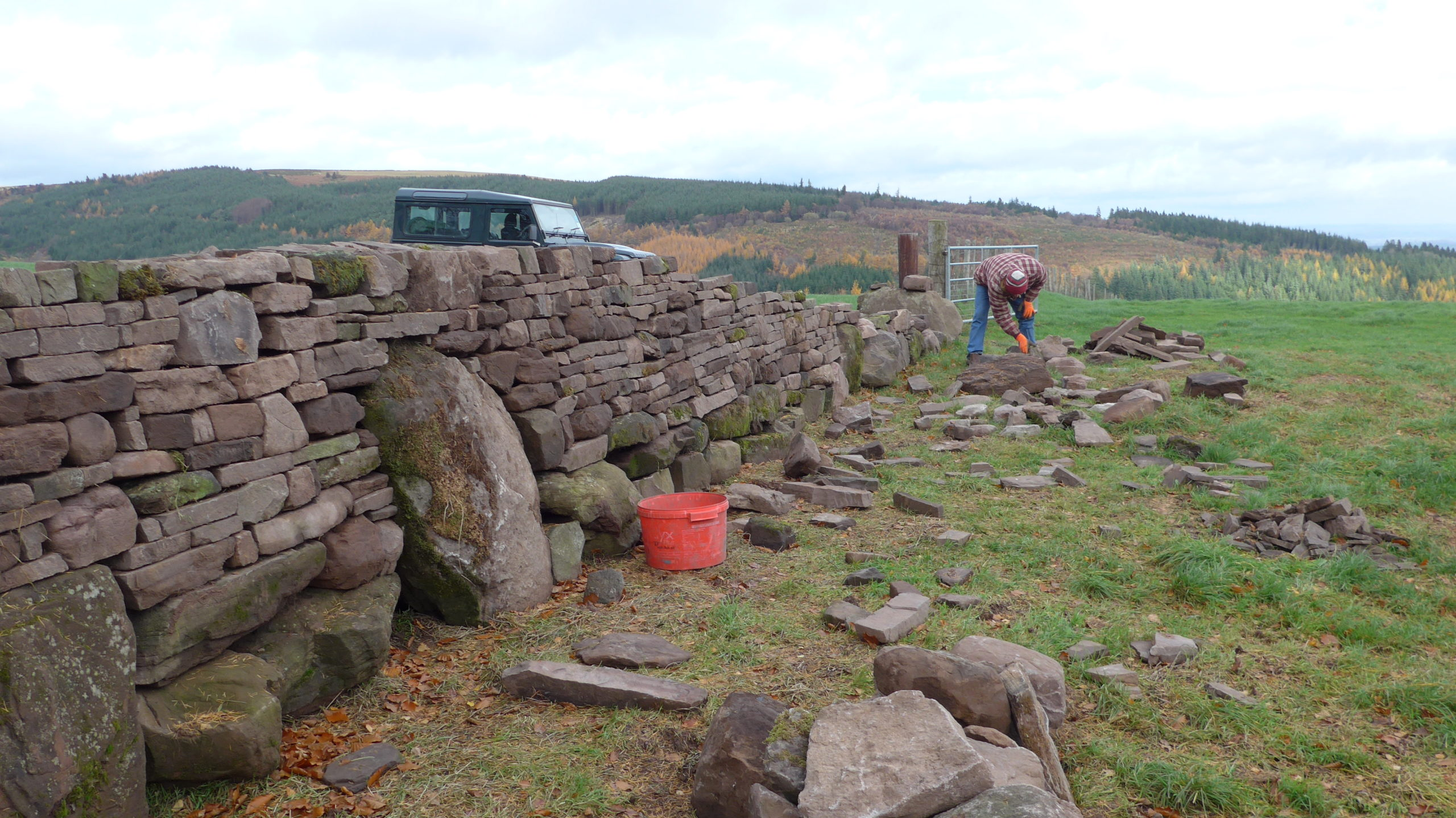 Dry Stone walling 2018
