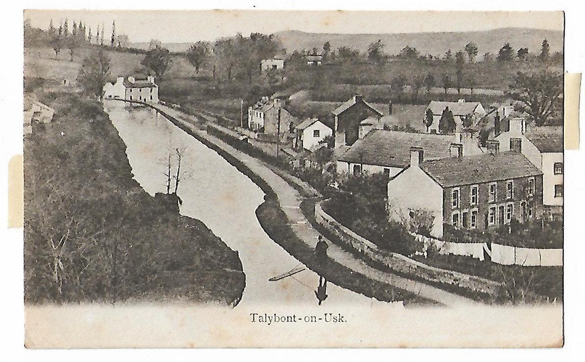 Talybont Canal Postcard