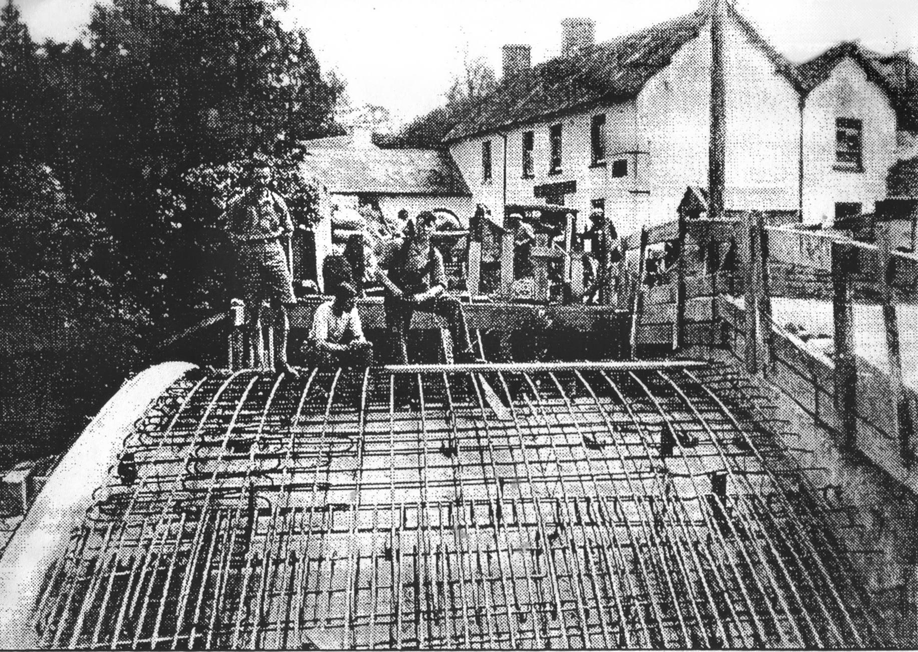 Bridge Building Caerfanell 1930