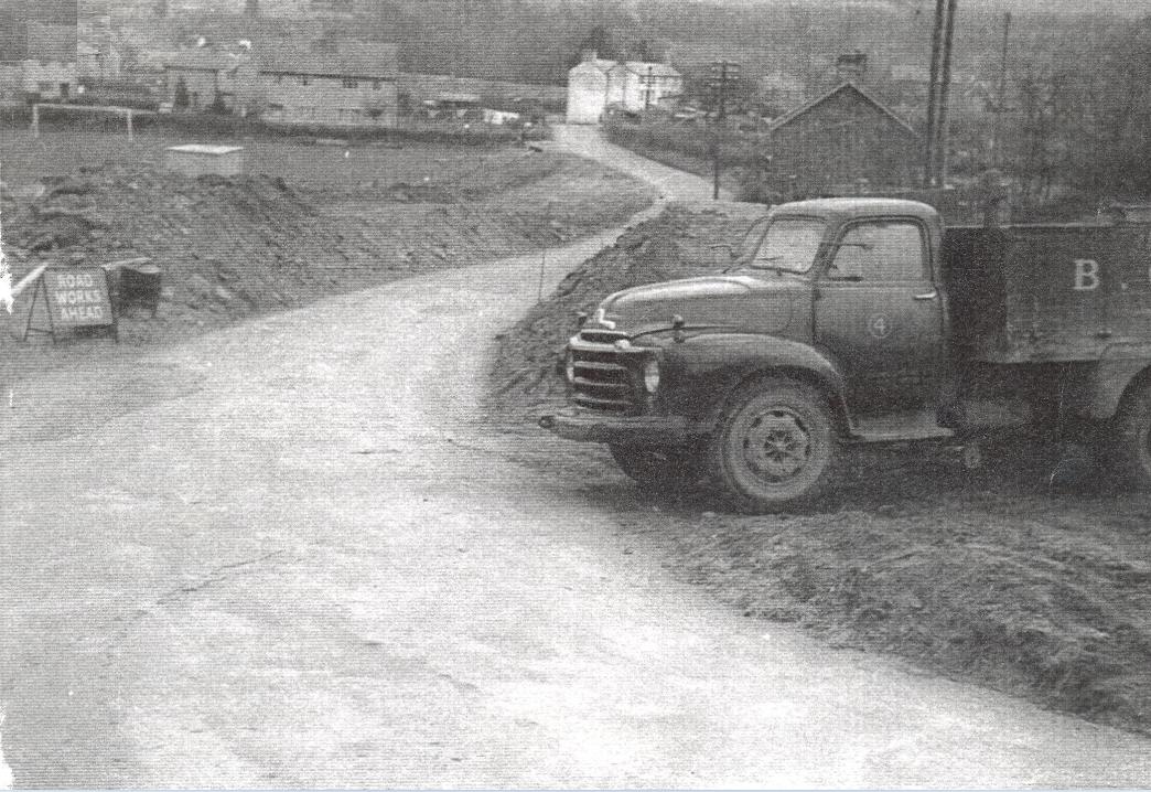 Talybont from Benaiah bridge 1930's