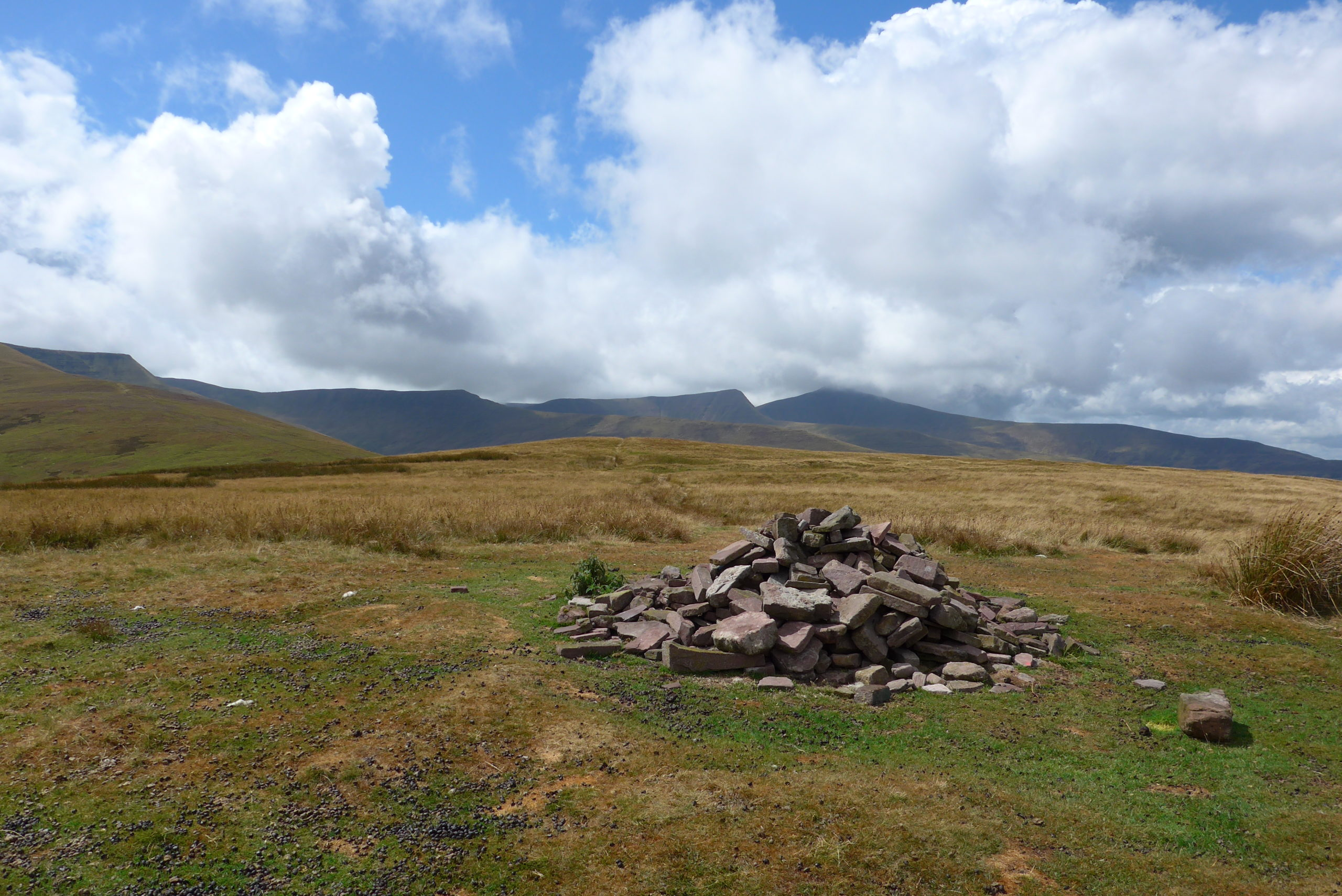 Bronze Age Cairn on the Bryn