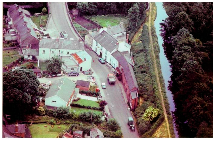 Talybont aerial view 1961