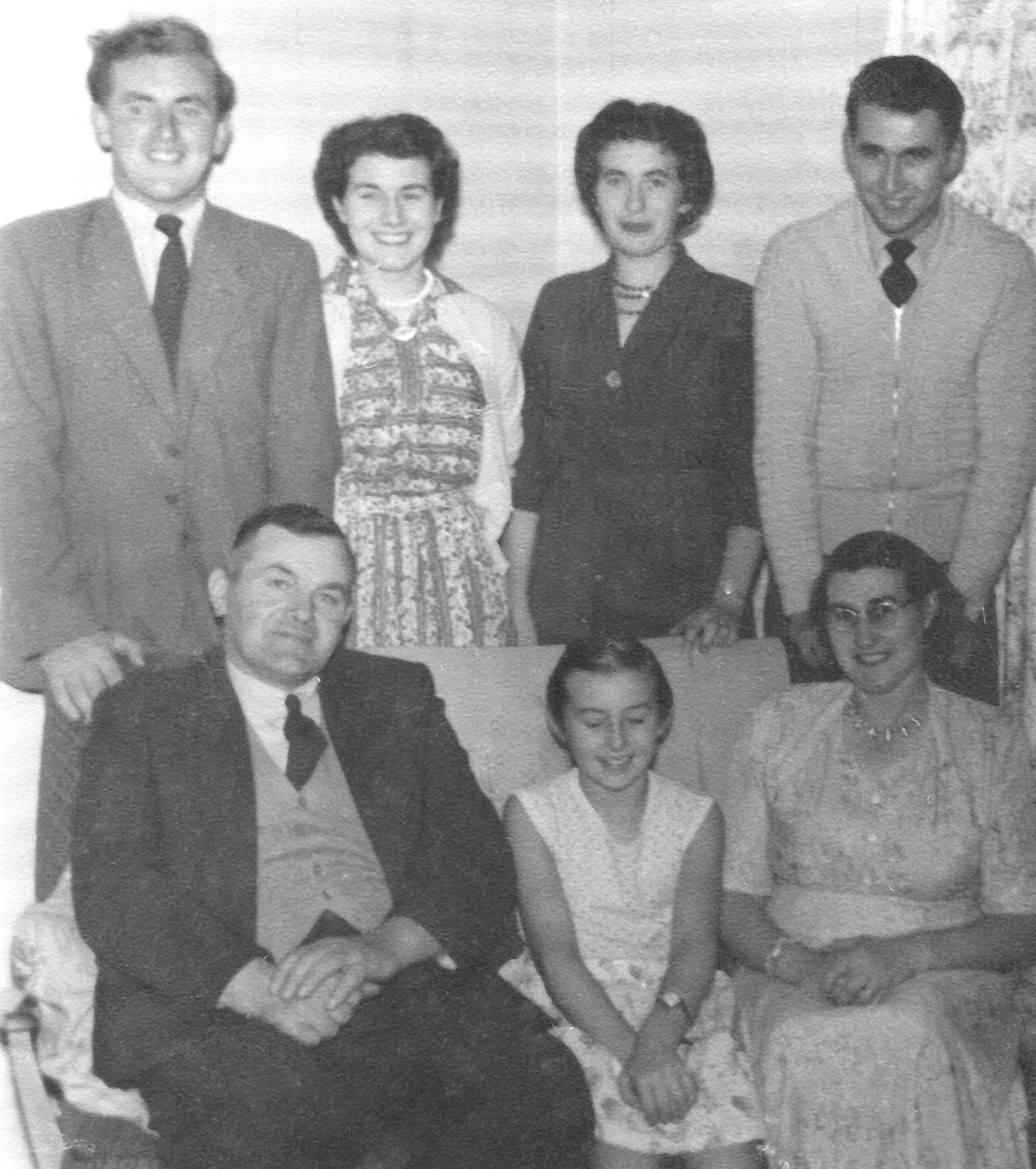 Stephens Family Post Office Row 1959