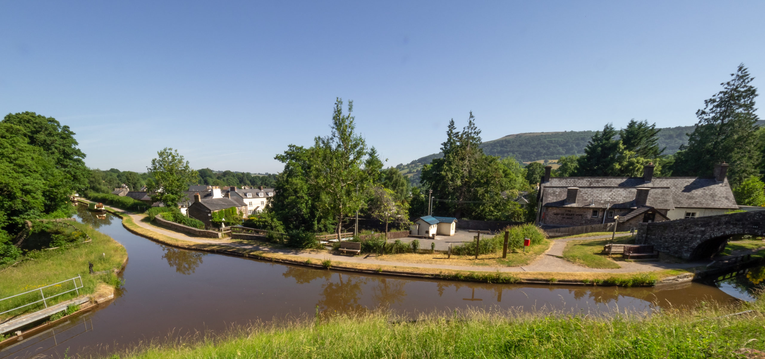 Talybont from the canal 2019